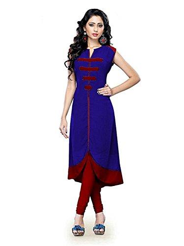 Sitaram Creations Women'S Cotton Kurti(Yellow_Free Size)