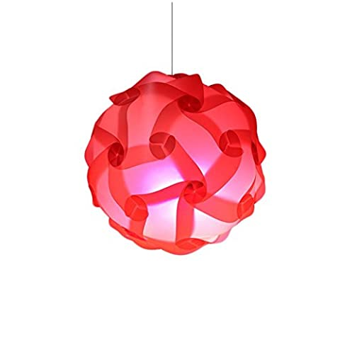 Chandelier Puzzle Lamp Shade / Jigsaw Iq Light Ceiling Shadow
