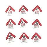 Mitlfuny Weihnachten Home TüR Dekoration 2019,50 stücke Papier Hang Tags Weihnachtsfeier Favor Label Preis Xmas Gift Card Weihnachten Label