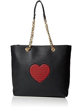 Valentino by Mario Valentino Damen Love Business Tasche, Schwarz (Nero), 14.0x32.0x36.0 cm