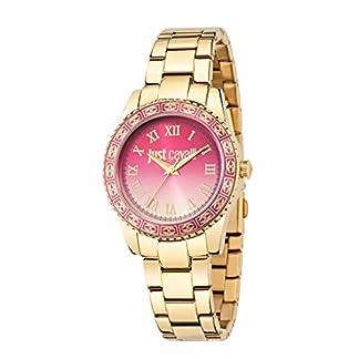 Just Cavalli Reloj analógico para Mujer de Cuarzo con Correa en Acero Inoxidable R7253202507