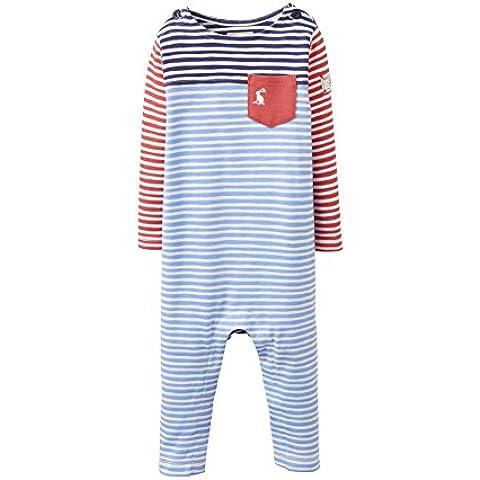 Joules Baby Hotch Potch Babygrow - Blueprint