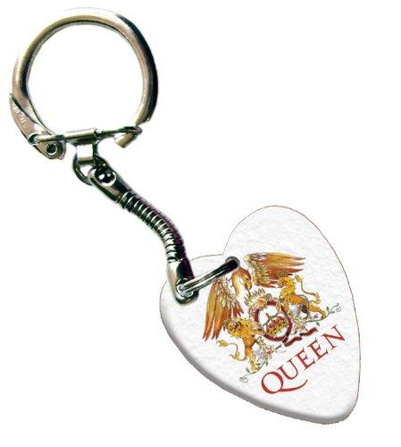 Queen Love Heart Guitar Púa Para Guitarra Llavero
