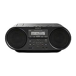 Sony Zs-rs60bt Cd Und Usb Bluetooth Boomboxradiorekorder (Nfc, Mega Bass, Ukw Radio) Schwarz