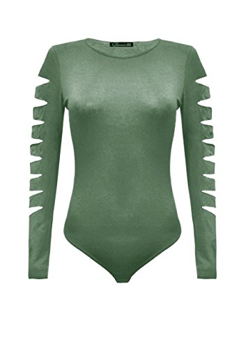 Fashion & Freedom Damen Body Khaki