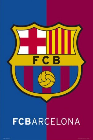 laminated-posters-barcelone-football-club-crest-poster-mesures-914-x-61-cm-915-x-61-cm