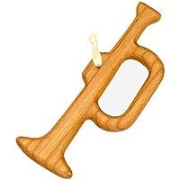 Christbaumschmuck aus Holz Trompete | Tannenbaumschmuck | Weihnachtsdeko | Weihnachtsbaum Deko | Weihnachtsbaumschmuck | handgemachte Holz Anhänger | Weihnachten