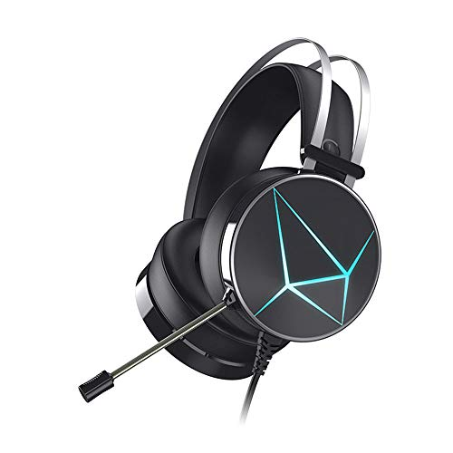 Yyzhx Gaming Headset USB Headset Bass Stereo Internet Cafe Headset Pc/ps4/xbox One/Switch