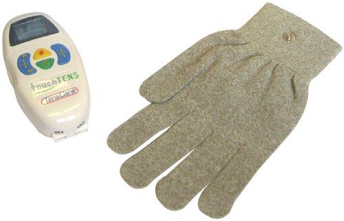 TensCare Set mit TouchTENS-Muskelstimulationsgerät und iglove-Handschuh