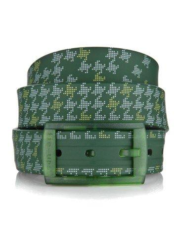 fuori-produzione-seconda-scelta-tie-ups-cintura-in-gomma-e-plastica-vert-de-poule