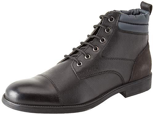 Geox Herren U Jaylon I Chukka Boots Schwarz (Black/Dk Grey C0005) 43 EU