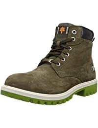Woodland Men's Gb 2973118sa_Olive Green_8 Leather Boots-8 UK (42 EU) (9 US) 2973118SAOLIVE