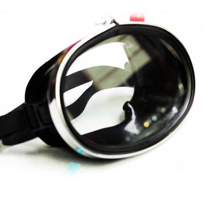 ZGHIAO Miroir de plongée Professionnel Lunettes de plongée Silicone Miroir de plongée Verre trempé Masque de plongée Plongée Miroir Horizontal Natation