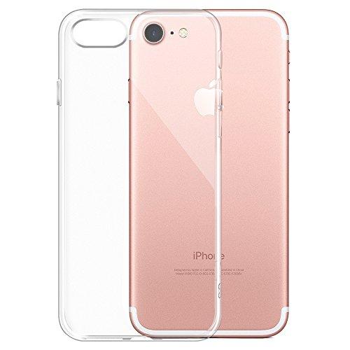 iPhone 7 Hülle, Ubegood iPhone 7 TPU hülle TPU Case handyhüllen Crystal Soft Silikon Ultradünn Cover Bumper Case Schutzhülle für iPhone 7 - Transparent