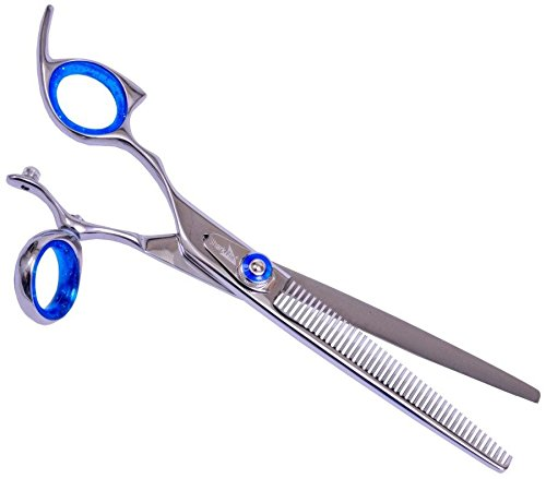 shark-fin-grooming-gold-line-50-tooth-texturizer-lefty-swivel-thumb-stainless