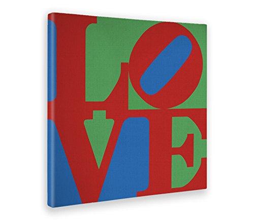 5ecef17d6 Giallo Bus 643 Quadro Stampa Su Tela Canvas, Pop Art, Robert Indiana Love,