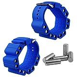 HINMAY Fitness-Handgelenkband, langlebiges Fitness-Equipment, modisches Silikon, Yoga-Gewichtsband,...