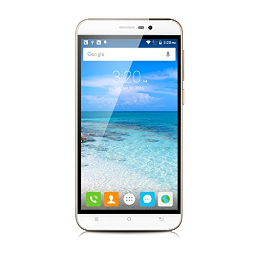 5.5'' CUBOT NOTE S IPS Schermo HD 3G Smartphone Android 6.0 MT6580 Quad Core 1.3GHz Cellulare 2GB RAM+16GB ROM Dual SIM HotKnot Telefono Cellulare WIFI Bianco