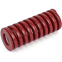 sourcingmap® 20mm OD 50mm Medio Lungo Carico Timbratura Compressione Muffa Filiere Molla Rosso