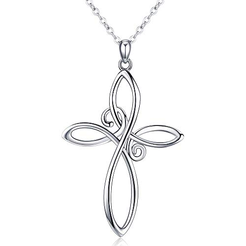 CHENGHONG Celtic Knot Necklace, ...