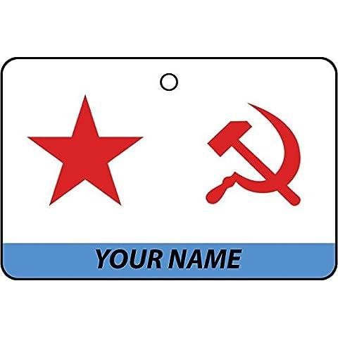 Deodorante Per Auto Personalizzato SOVIET UNION NAVY