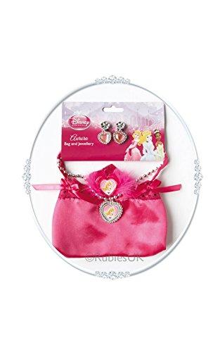 Rubie 's Offizielles Sleeping Beauty Tasche mit Schmuck, Kinder Kostüm-EINE Größe (Sleeping Beauty Fancy Dress Kostüme)
