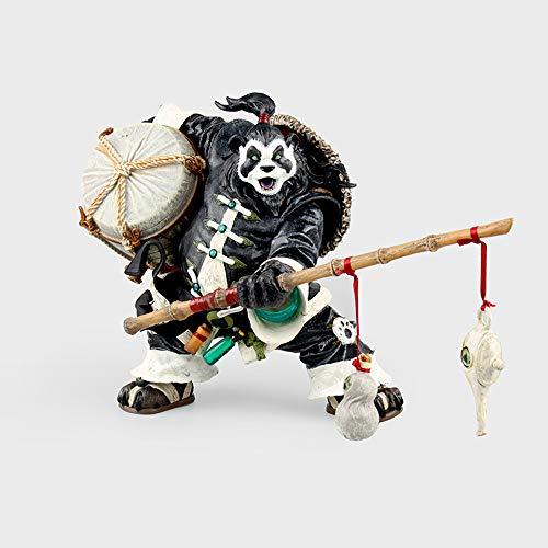 Vokaer World of Warcraft Charaktermodell Chen Storm Spirits Pandaren Brewmaster Deluxe Exquisites Actionfigur-Modell