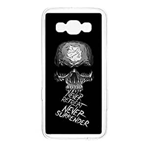 a AND b Designer Printed Mobile Back Cover / Back Case For Samsung Galaxy A7 (SG_A7_1520)