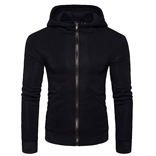 KaloryWee Shirts männer Herbst Winter Packwork Slim Fit Langarm schöne Pullover Herren,Pullover ohne Kapuze Pullover mit reißverschluss Hoodie männer -
