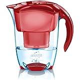 Brita Elemaris - Jarra con indicador inteligente Meter y filtro para agua, color rojo