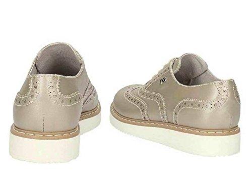 Nero Giardini Junior , Chaussures de ville à lacets pour femme Bianco