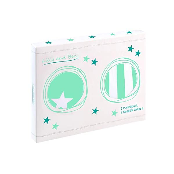 Baby Swaddle Wrap Manta Envolvente – S/M o L – Saco-s De Dormir Bebe-s Recien Nacido-s Mantas Arrullo – Set 2