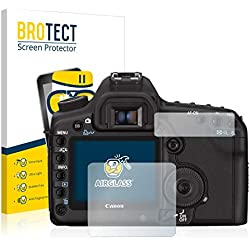 brotect Protection Ecran Verre Compatible avec Canon EOS 5D Mark II Film Protecteur Vitre 9H Anti-Rayures, AirGlass