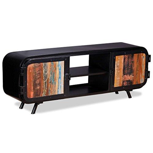 vidaXL TV Schrank Altholz 120x30x45cm Fernsehtisch Lowboard Sideboard TV Board