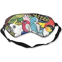 Kinds of Birds Natural Silk Sleep Mask Comfortable Smooth Blindfold for Travel, Relax preisvergleich bei billige-tabletten.eu
