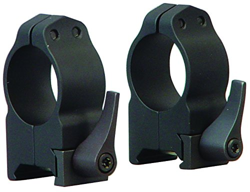 Warne Scope Mounts Medium Matte Quick Detach Rings (1-Inch) by Warne Scope Mounts -