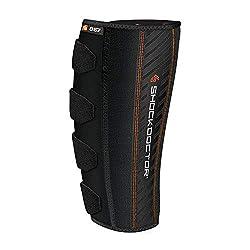 ShockDoctor Adult Calf Bandage Bandage, Black, One size