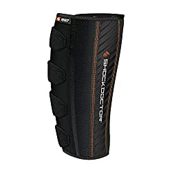 ShockDoctor Erwachsene Wadenbandage Bandage, Black, One size