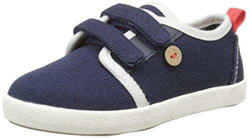 Faguo Unisex-Kinder Sugi Sneaker Blau - Bleu (S1650 Twill Navy)