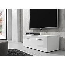 Tv schrank weiß hochglanz  Suchergebnis auf Amazon.de für: Lowboard, Breite 100 cm