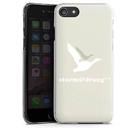 Apple iPhone X Silikon Hülle Case Schutzhülle Vogel Fliegen Sturm & Drang Hard Case transparent