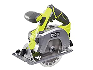 Ryobi RWSL1801M ONE+ Circular Saw, 18 V (Body Only) - Green/Grey