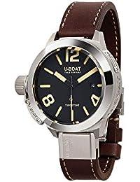 U-Boat Classico reloj automático, tungsteno, negro, 45mm, 8094
