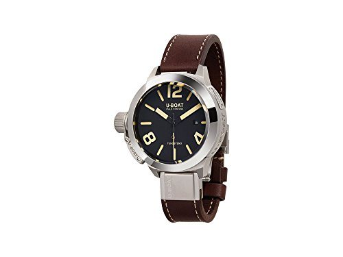 U-Boat Classico Automatic Watch, Tungsten, Black, 45mm, 8094