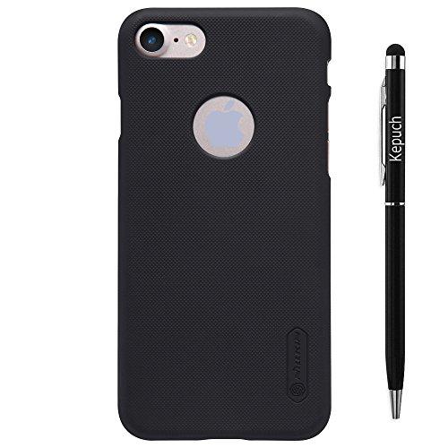 [Bamboo] Nillkin Gommage Super bouclier Haute qualité Ultra-mince Étui Housse Coque en Smart Cover Pour Apple iphone 6 (4.7 inch) ,Rose Noir