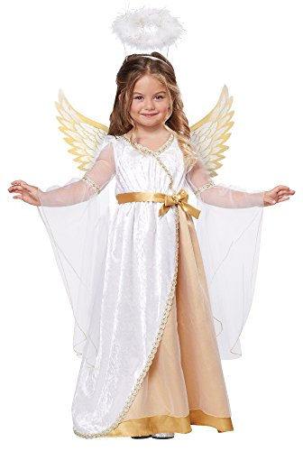California Costumes Sweet Little Angel Costume, One Color, 3-4 by California Costumes
