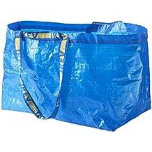 Ikea Frakta - Bolsa grande para la compra, la colada y el almacenamiento, color