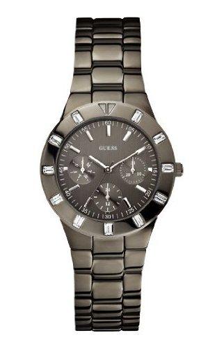 Analógico W0027l1 De Cuarzo Con Acero Para Guess InoxidableColor Correa Reloj Mujer Gris htCsdQrx
