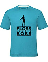 Floss Like A Boss T-Shirt Boys Girls Kids Adults Tee Top7-8 YearsTurquoise
