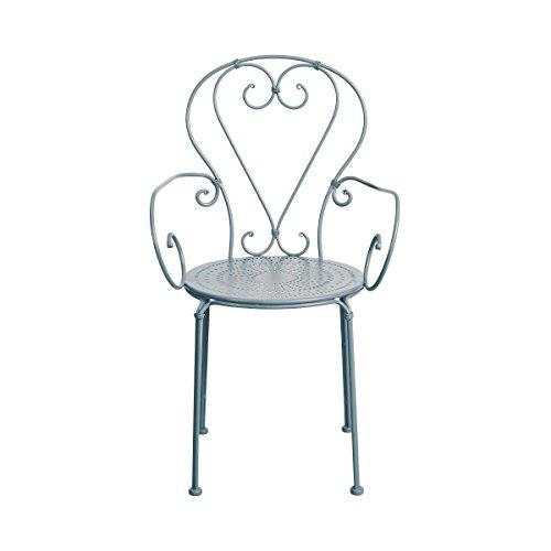 Butlers Century Stuhl mit Armlehnen - Balkon-Stuhl - Garten-Stuhl - mit Armlehne - französischer...